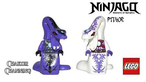 LEGO Ninjago 2012 & 2015 Pythor Minifigures Review & Comparison