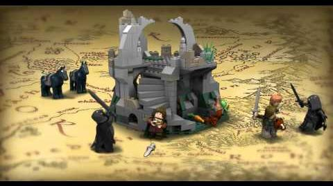 LEGO The Lord of the Rings - Attack on Weathertop