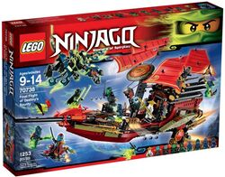 Lego Ninjago Final Flight of Destiny's Bounty