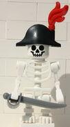 9349 Skelett Kapitain