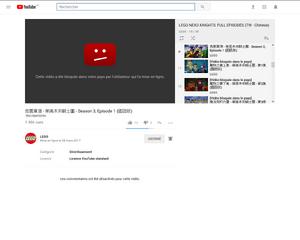 Accessibilité-Vidéo bloquée