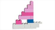 5560 Grande boîte rose de briques 8