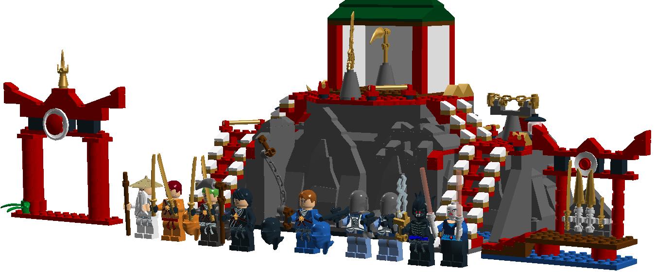 custombattle of ninja temple brickipedia fandom