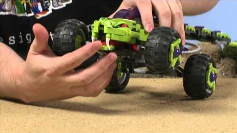 LEGO Ninjago - Fangpyre Truck Designer Video