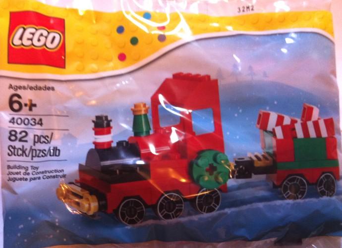 40034 LEGO Christmas Train | Brickipedia | FANDOM powered by Wikia