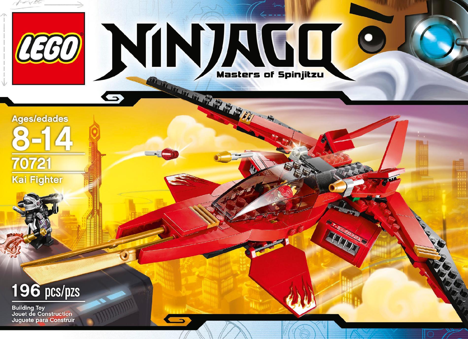 Mini Fig // Mini Figure General Cryptor NINJAGO 2014 LEGO 70721
