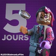 Vignette Batman Movie 5 jours