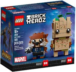 41626 Groot & Rocket Box