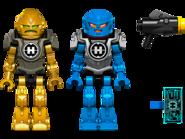 44028 Le Robot 2 en 1 de Surge et Rocka 2