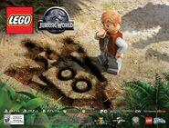 LEGO Jurassic World Owen Grady 2