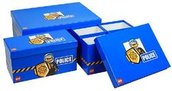 SD655blue-Storage Boxes Modular Police Blue
