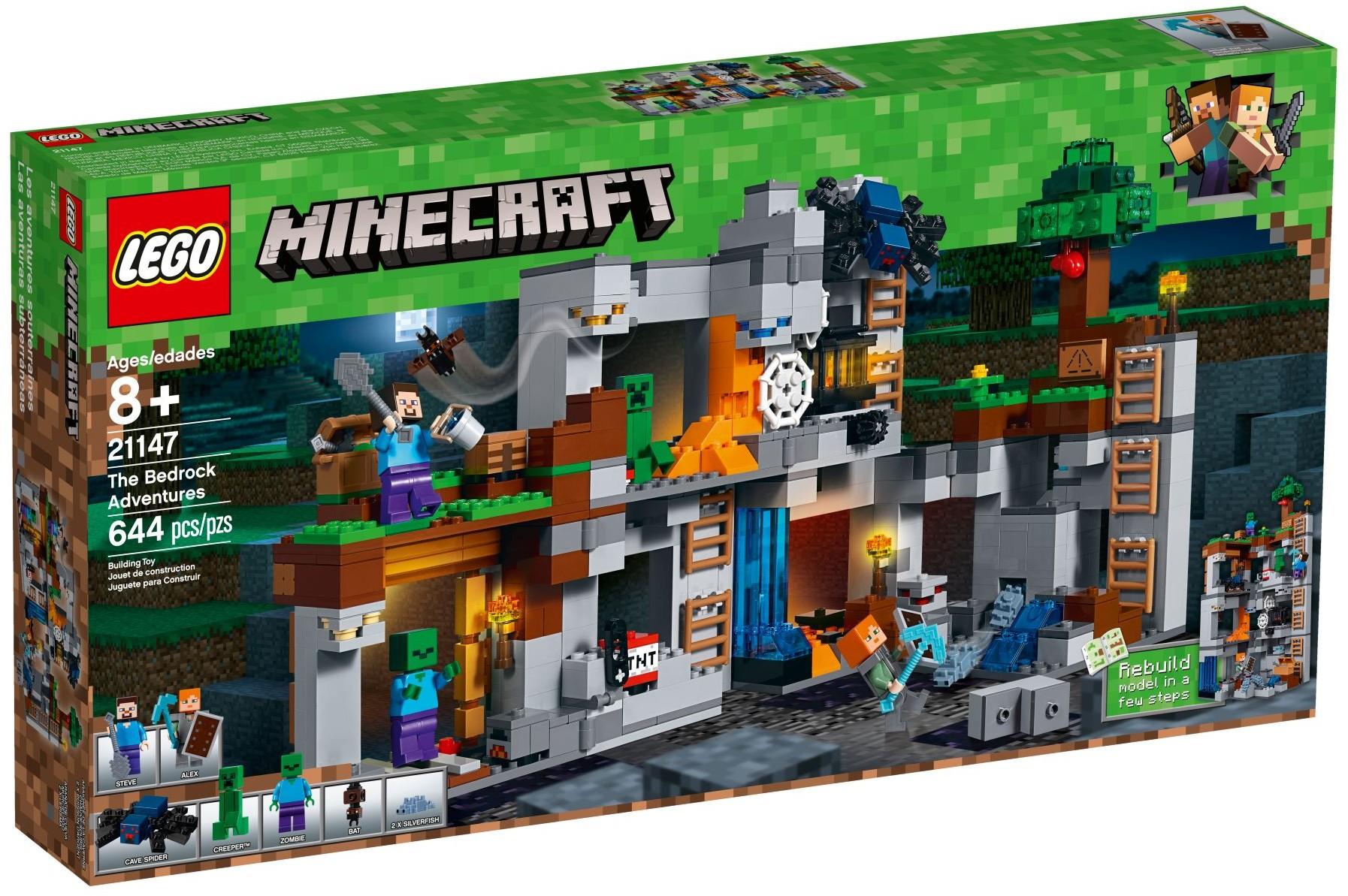 LEGO® Minecraft Figur 1x Creeper aus Set 21147 21138 21155 21115