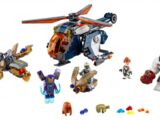 76144 Hulk Helicopter Drop