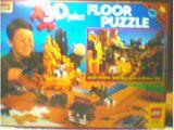 08098 Rose Art Floor Puzzle, Wild West 3D