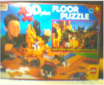 08098 Rose Art Floor Puzzle Wild West 3d Brickipedia