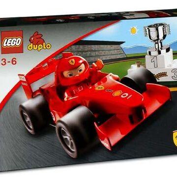 4693 Ferrari F1 Race Car Brickipedia Fandom