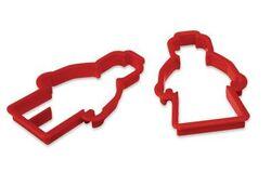 852524 Minifigure Cookie Cutters