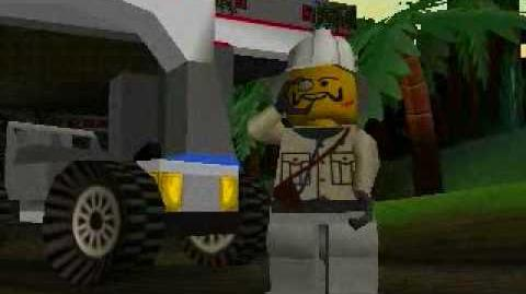 LEGO Racers - Baron Von Barrons Opening