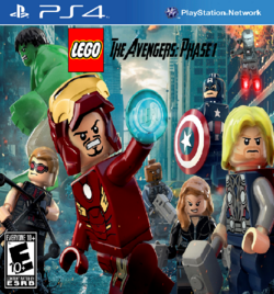LEGO The Avengers-Phase 1 Cover (PS4)