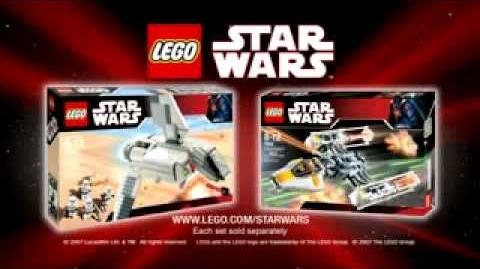 Lego star wars imperial landing craft commercial