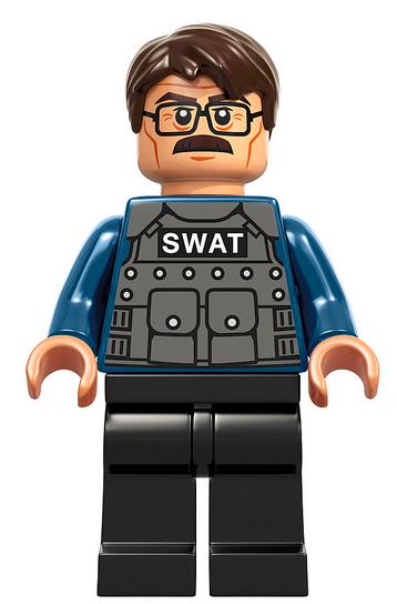 Lego Minifigures Batman Commissioner Gordon