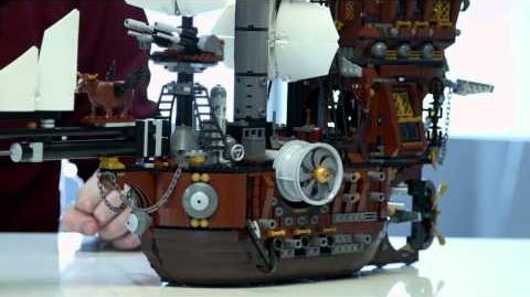 The LEGO® Movie - MetalBeard's Sea Cow