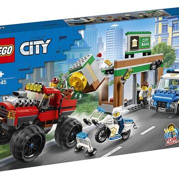 ITEM NO 952016 CROOK LEGO CITY POLICEMAN AND BANK ROBBER