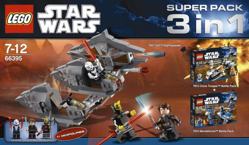 66395 Star Wars Super Pack   Brickipedia   FANDOM powered by Wikia