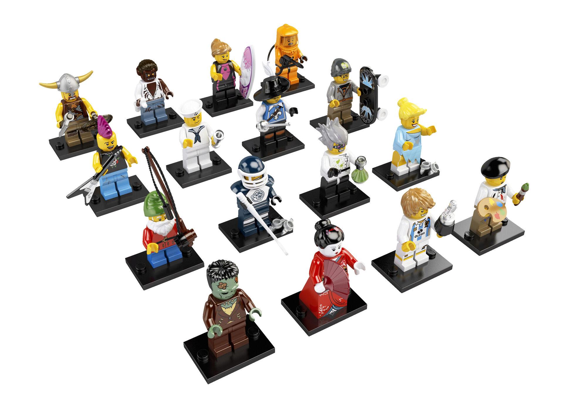 8804 minifigures series 4 brickipedia fandom powered by wikia. Black Bedroom Furniture Sets. Home Design Ideas