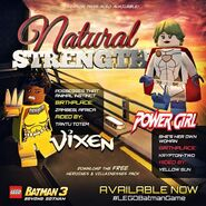 LEGO Batman 3 Heroines & Villainesses Pack Vixen et Power Girl