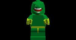 Plant Monster (Lime Green Hands)