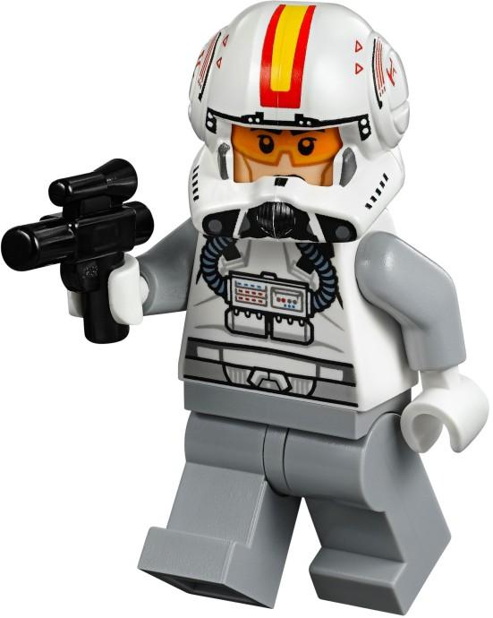Lego Minifigure Star Wars Episode 1 Republic Pilot