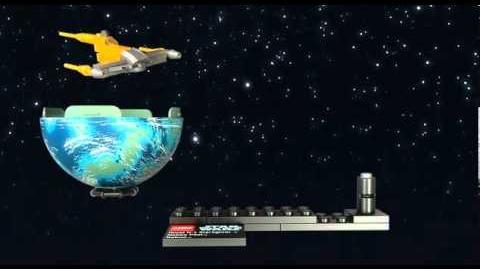LEGO STAR WARS - Naboo Starfighter & Naboo 9674
