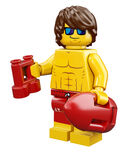 Lifeguard Guy Series 12 LEGO Minifigures