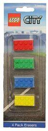 LEGO City Erasers 3262