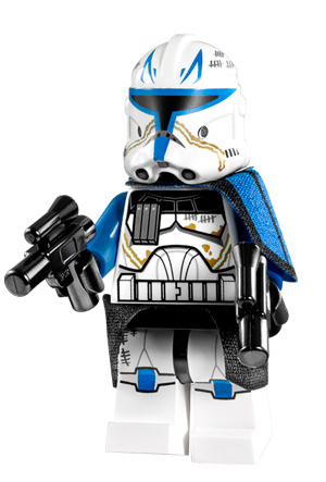 Fox Wolffe Rex Custom Lego Star Wars Clone Commander Set of 8