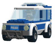 Not-a-Robot's Police Car