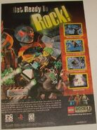 Rock Raiders game ad