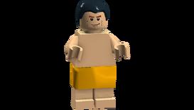 The Big Bang Theory minifigures (Kurt caveman disguise)