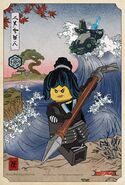 The LEGO Ninjago Movie Poster Nya dessin