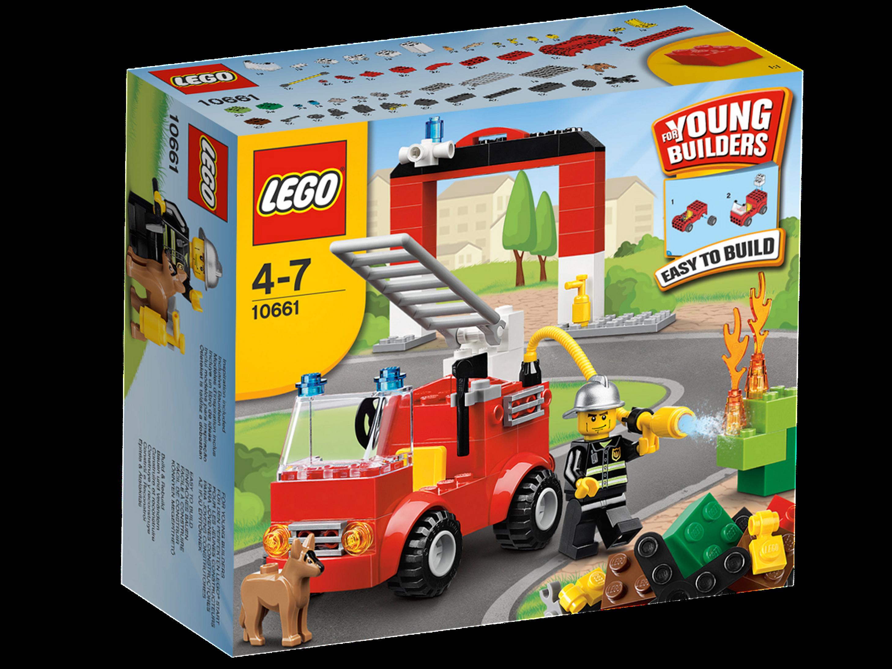 10661 My First Lego Fire Station Brickipedia Fandom Powered By Wikia