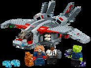 76127 Captain Marvel et l'attaque du Skrull