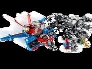 76150 Le Spider-jet contre le robot de Venom 3
