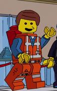 Emmet Brickowski Simpsons