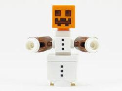 LEGOSnowGolem
