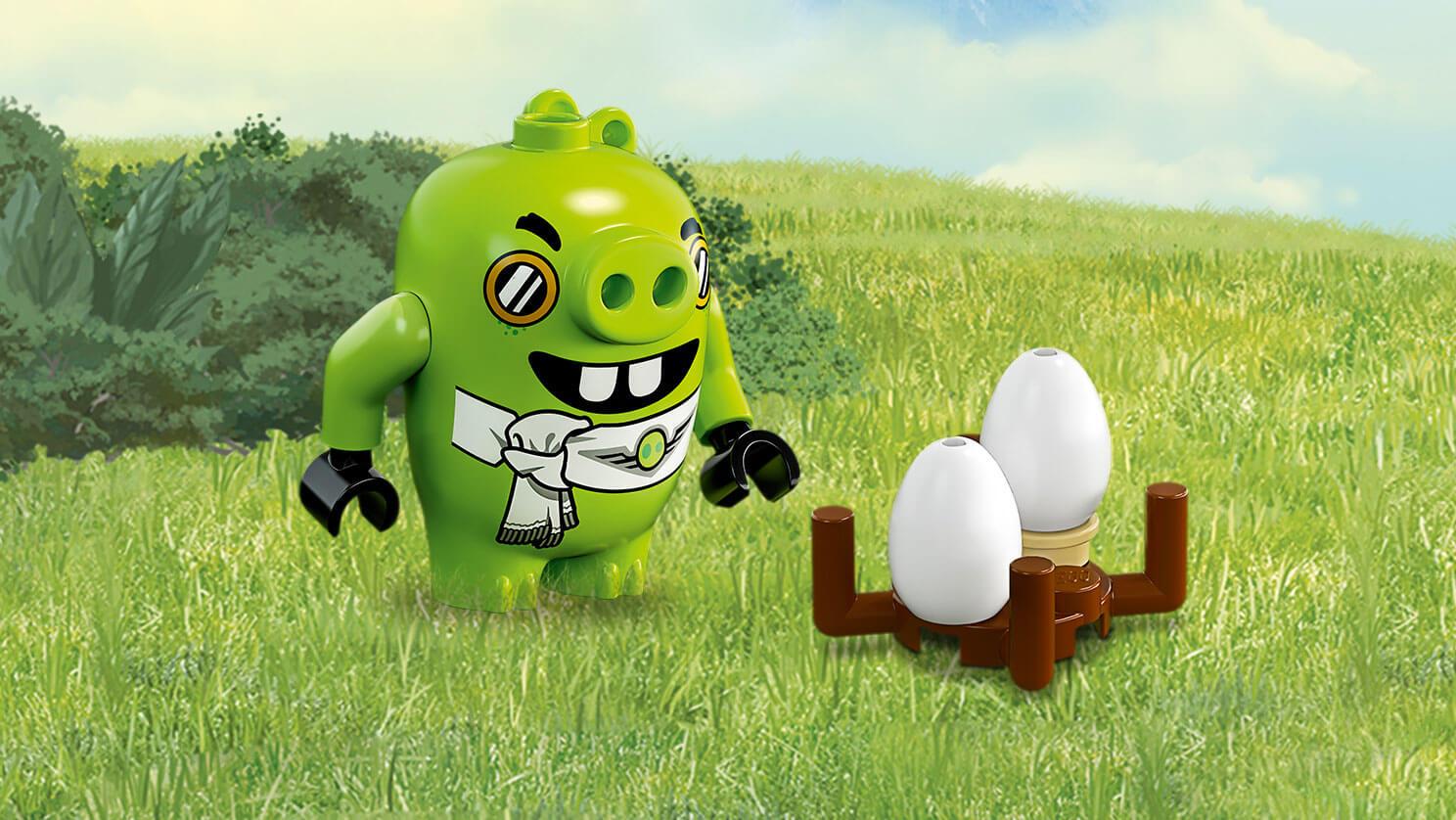 image - lego-angry-birds-movie-pilot-pig-primary | brickipedia