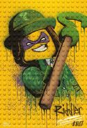 The LEGO Batman Movie Poster graffiti The Sphinx