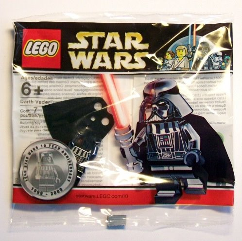 LEGO 852548 Star Wars R7-A7 Droid Minifigure Key Chain from 2009 Brand NEW
