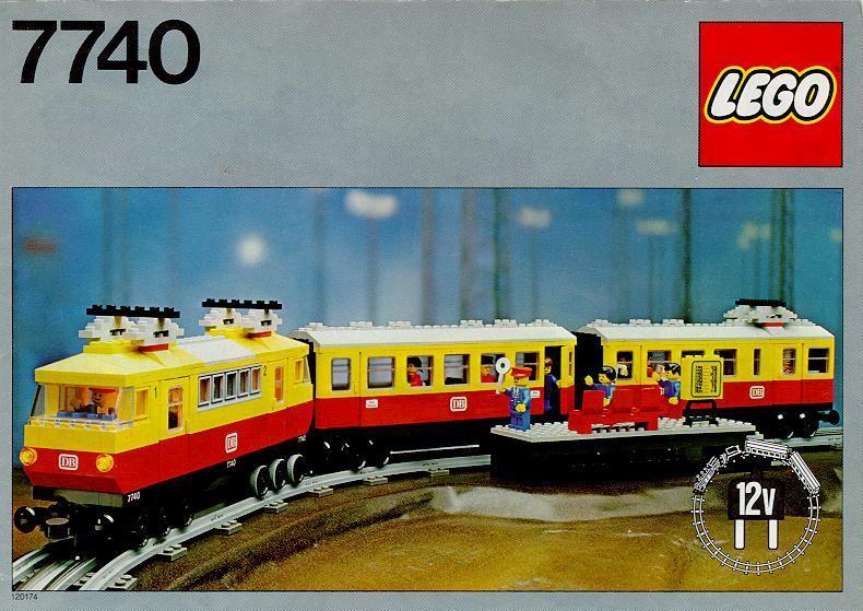 7740 Inter-City Passenger Train Set | Brickipedia | FANDOM powered ...