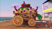 Char de fruits-Le concours de chars